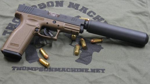 Thompson Machine QMF .45
