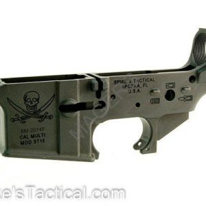 Spike's Tactical Stripped Lower - Calico Jack Logo-0